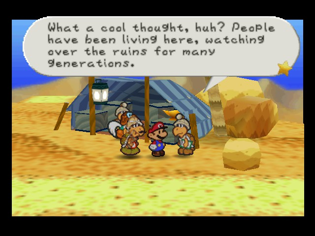 Paper Mario - Level  - Cool story bro - User Screenshot